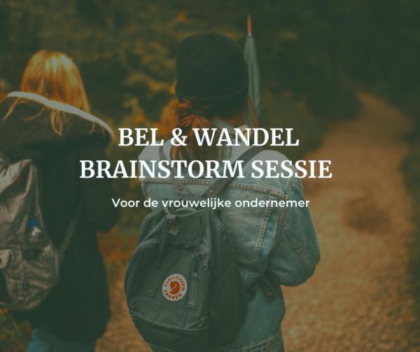 Bel wandel brainstorm sessie